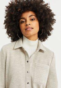 WE Fashion - Button-down blouse - beige - 4