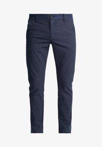 SLHSLIM ARVAL PANTS - Trousers - navy blazer