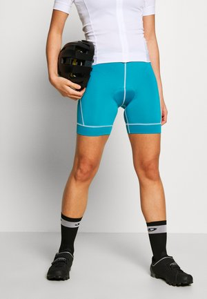 HABIT SHORT - Leggings - turquoise