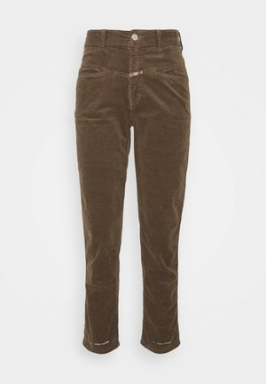 PEDAL PUSHER - Relaxed fit jeans - chocolate chip
