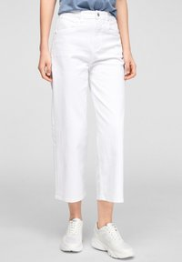 s.Oliver - Trousers - white - 5
