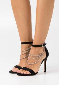 ALDO - BLING - High Heel Sandalette - black - 0