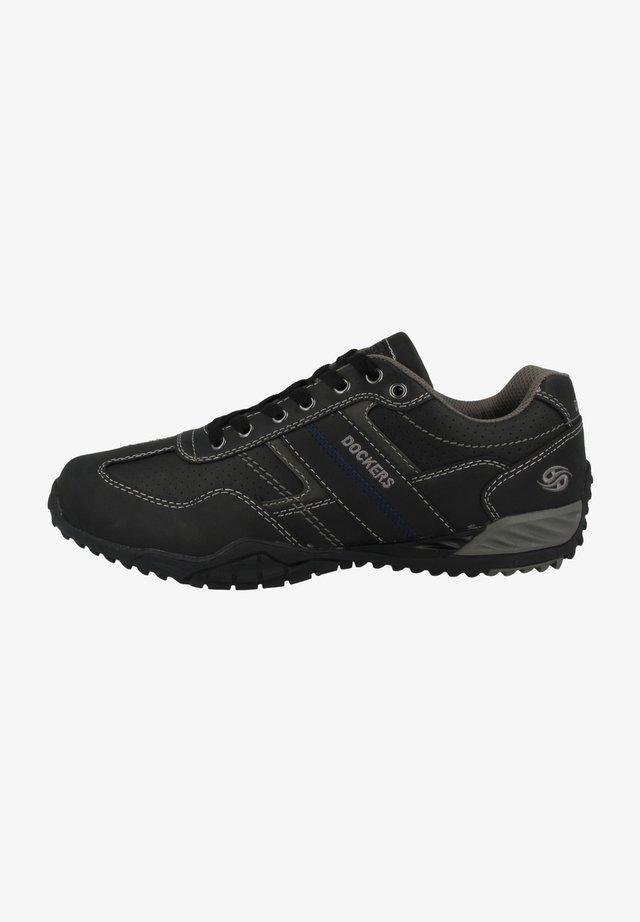 DOCKERS BY GERLI SNEAKER - Sneakers laag - black-grey