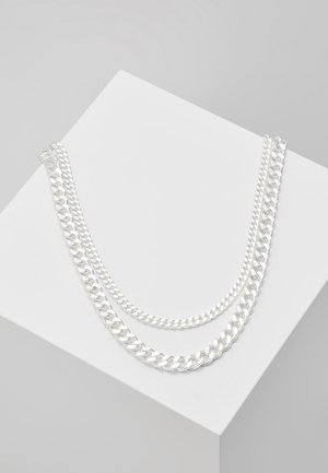 NECKLACE 2 PACK - Náhrdelník - silver-coloured
