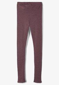 Name it - MERINOWOLL - Leggings - Trousers - flint - 1