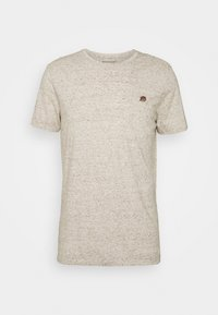 LOGO SOFTWASH TEE - Basic T-shirt - oatmeal