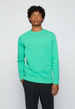 Sweatshirt - open green