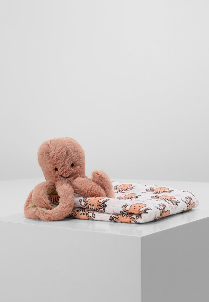 Jellycat - ODELL OCTOPUS GIFT SET - Vauvalahja - apricot