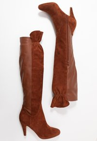 mint&berry - Over-the-knee boots - cognac - 3