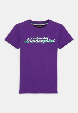 LOGOSCRIPT - Print T-shirt - purple mel