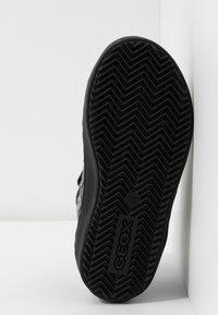 Geox - KALISPERA GIRL - Zapatillas altas - black - 4