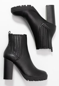 Nly by Nelly - High heeled ankle boots - black - 3