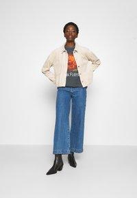 Topshop - PINK FLOYD TEE - T-Shirt print - black - 1
