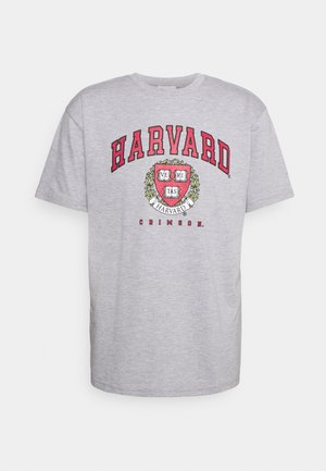HARVARD CRIMSONTEE - T-shirt z nadrukiem - grey marl