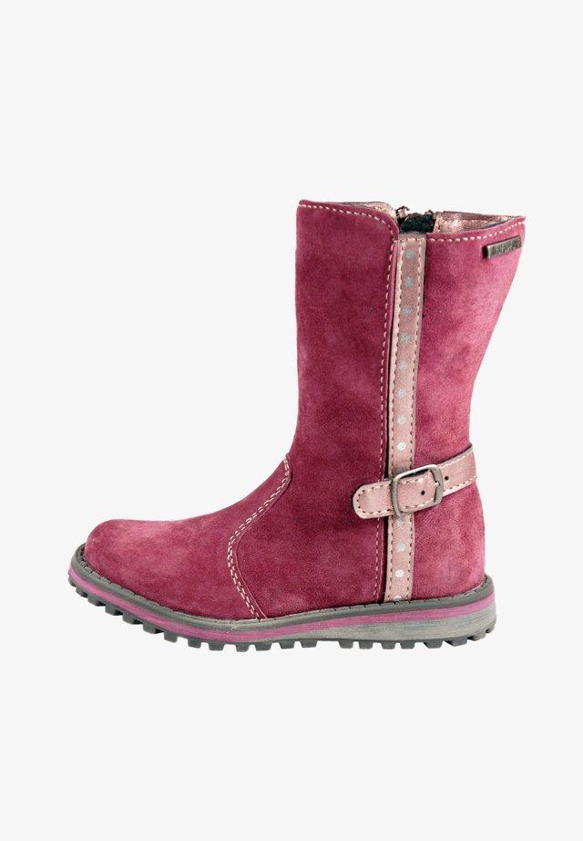 Boots - ambergine