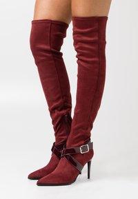 Even&Odd - High heeled boots - bordeaux - 0
