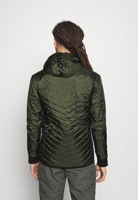 Mons Royale - ARETE INSULATION HOOD - Outdoor jacket - atlantic/rosin - 2
