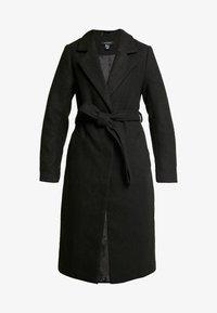 New Look - GABRIELLE BELTED COAT  - Kåpe / frakk - black - 3