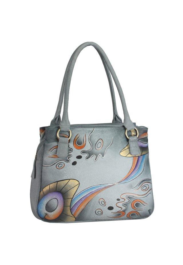 Handbag - handbemalt