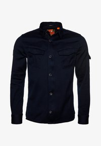 Superdry - SUPERDRY PATCH PATROL LONG SLEEVED SHIRT - Shirt - covert navy - 3