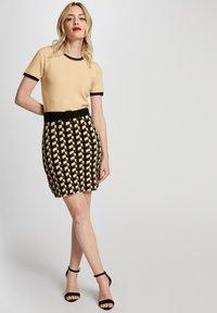 Morgan - Jumper dress - yellow - 1