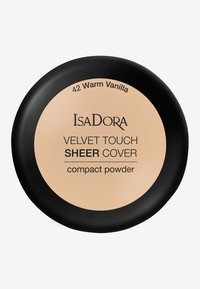 IsaDora - VELVET TOUCH SHEER COVER COMPACT POWDER - Powder - warm vanilla - 2