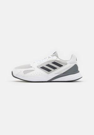 RESPONSE RUN - Neutral running shoes - footwear white/grey six/grey one