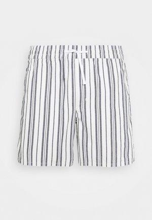 OLSEN STRIPED  - Shorts - navy