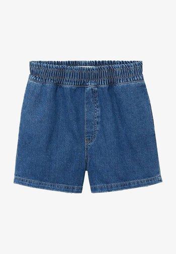 GABRIEL-I - Jeansshort - średni niebieski