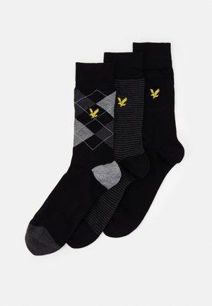 CALVIN 3 PACK - Socks - black