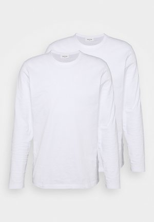 EMIL LONG SLEEVE 2 PACK - Long sleeved top - bright white