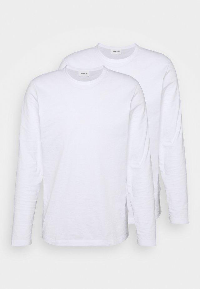 EMIL LONG SLEEVE 2 PACK - Longsleeve - bright white