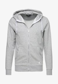 Solid - MORGAN ZIP - veste en sweat zippée - light grey - 4