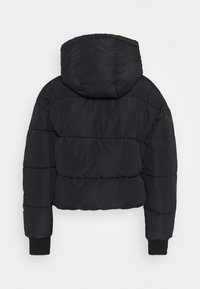 Monki - AMBER SHORT - Winter jacket - black dark