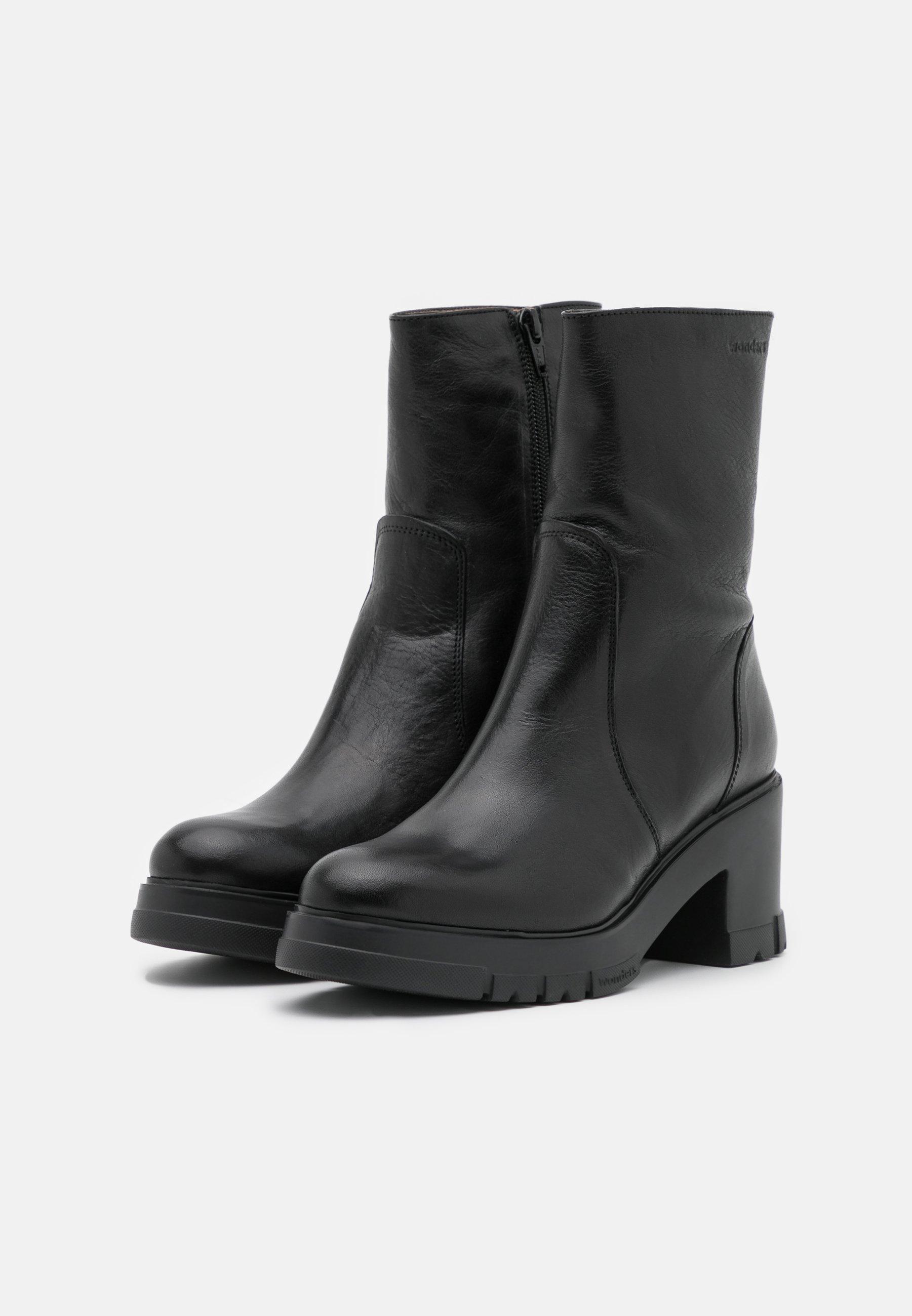 WONDERS Platform-nilkkurit - nero - Naisten kengät QmWh5