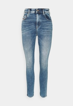 SLANDY HIGH - Jeans Skinny Fit - light blue