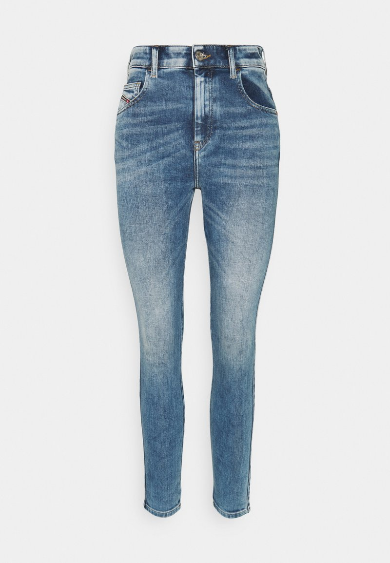 Diesel - SLANDY HIGH - Jeans Skinny Fit - light blue