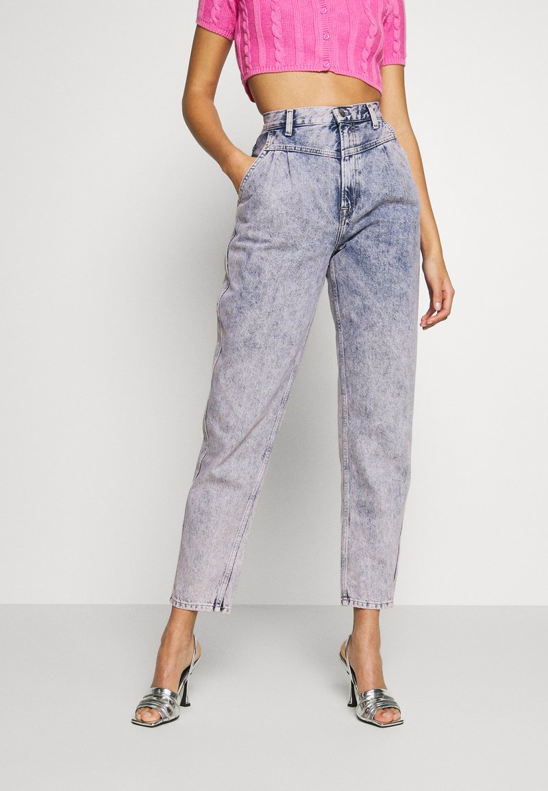 Pepe Jeans - DUA LIPA X PEPE JEANS - Jeansy Relaxed Fit - moon washed