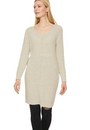 Jumper dress - white melange