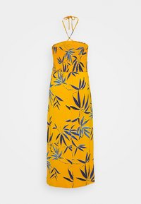 CAPSULE by Simply Be - SOLID SHIRRED DRESS - Robe en jersey - yellow - 1