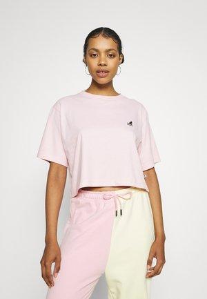 CALIFORNIA CROPPED - T-shirt basic - light pink