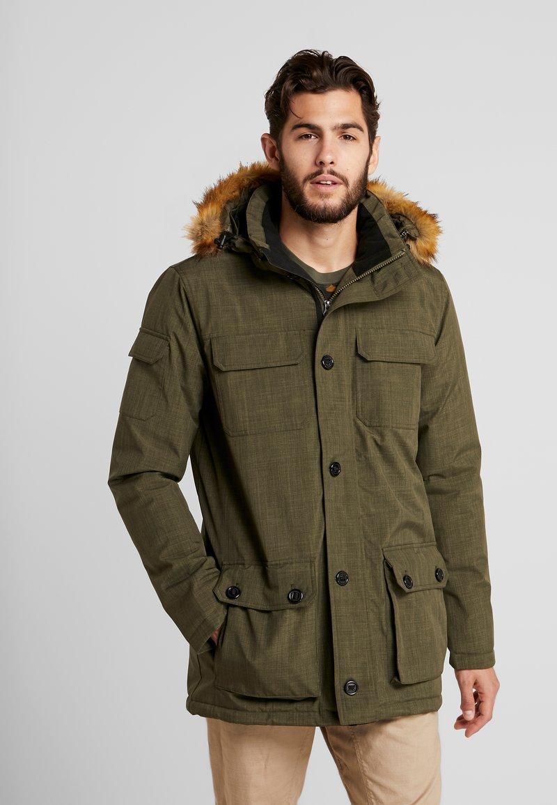 Hi-Tec - HERSHEL - Zimní kabát - olive night