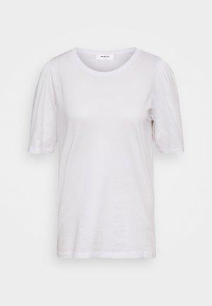 ALVA PUFF TEE - T-shirt med print - white