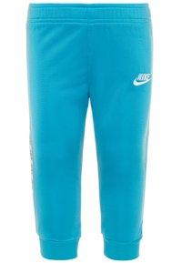 Nike Sportswear - BLOCK TAPING TRICOT BABY SET - Träningsset - laser blue - 2
