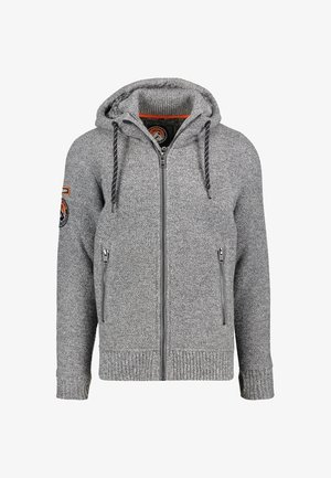EXPEDITION - Cardigan - grey