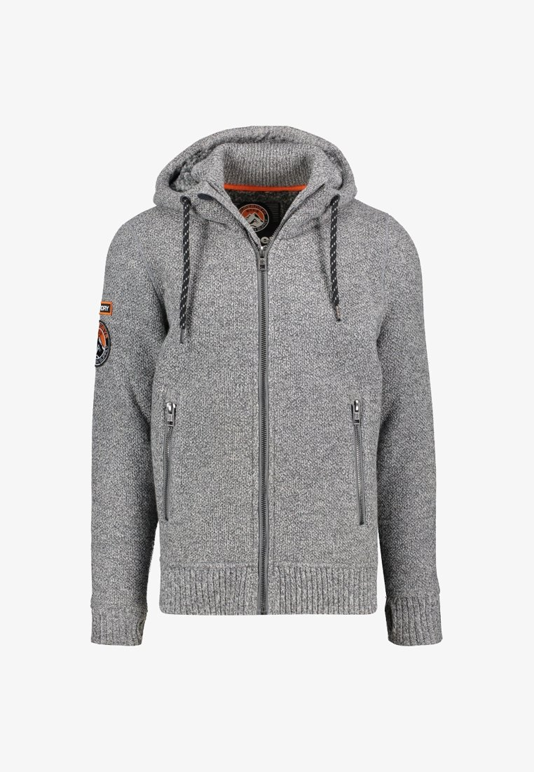 Superdry - EXPEDITION - Cardigan - grey