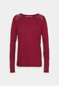 ONLY - ONLNICOLE LIFE NEW MIX  - Long sleeved top - pomegranate - 0