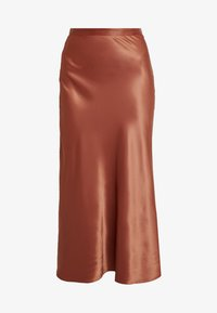 Monki - BAILEY SKIRT - Maxi sukně - rust - 4