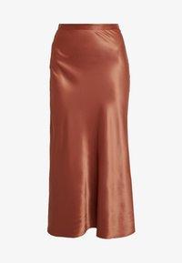 BAILEY SKIRT - Maxi sukně - rust