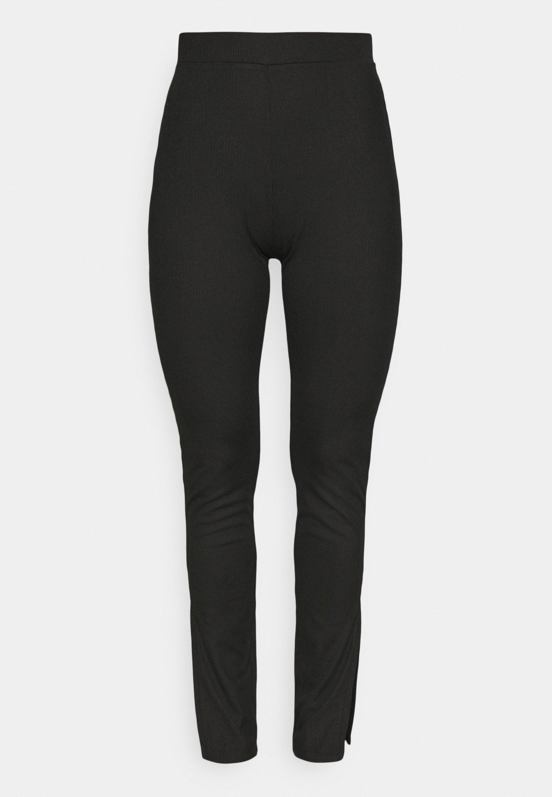 Damen SPLIT SIDE LEGGING PANT - Stoffhose